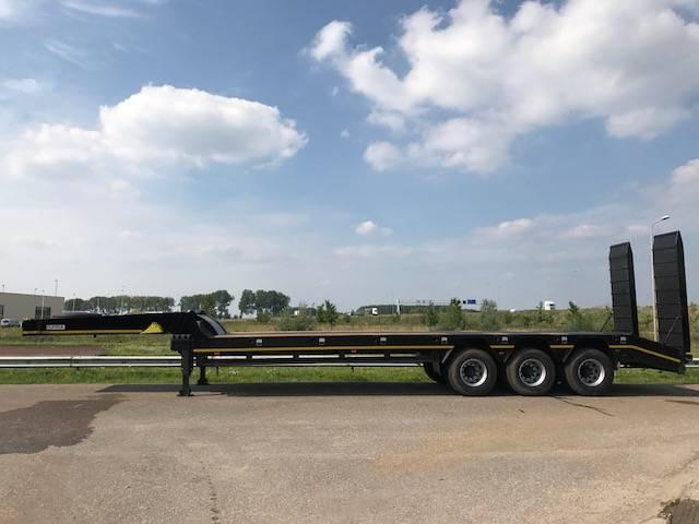Ozgul LW3 3 axle lowbed semi trailer 60 TON - 2018