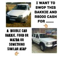 Ford bantam AND R8000 CASH TO SWOP