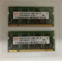 512MB RAM DDR2 SO-DIMM 1Rx16 PC2-5300S-555-12