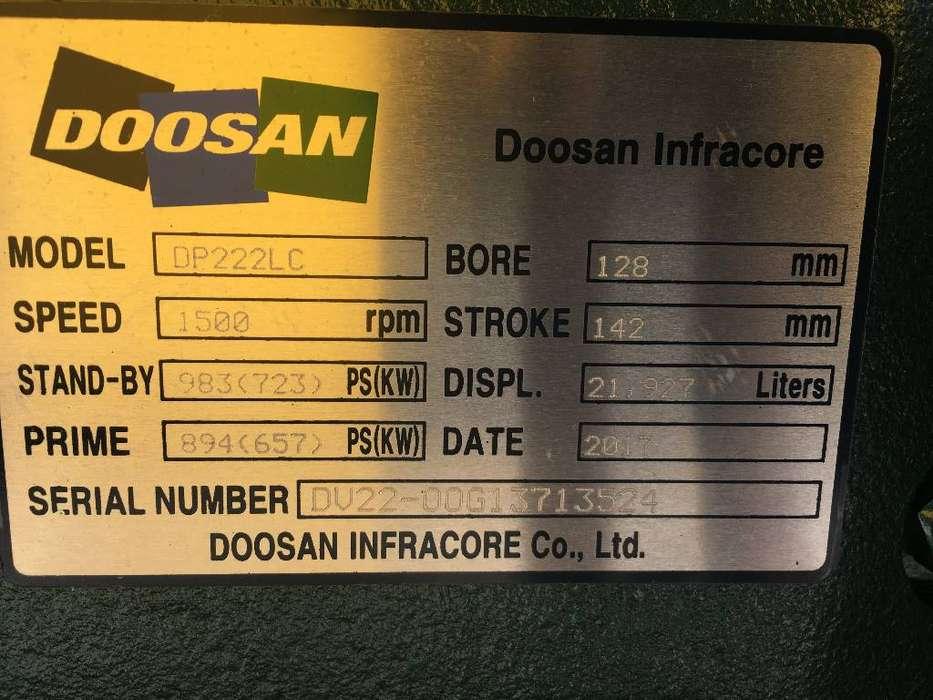 Doosan DP222LC - 825 kVA Generator - DPX-15565-O - 2019 - image 9