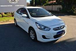 2014 Hyundai Accent 1.6 gl motion in very good condition