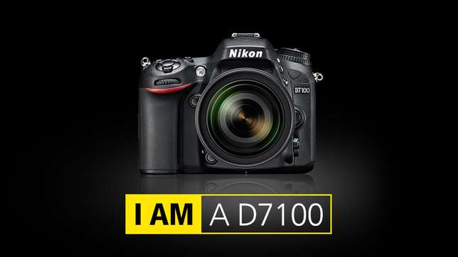 new brand nikon D7100 in cbd shop call now or visit our shop in town Nairobi CBD - image 1