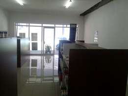 Nicely located commercial space to rent in Tzaneen