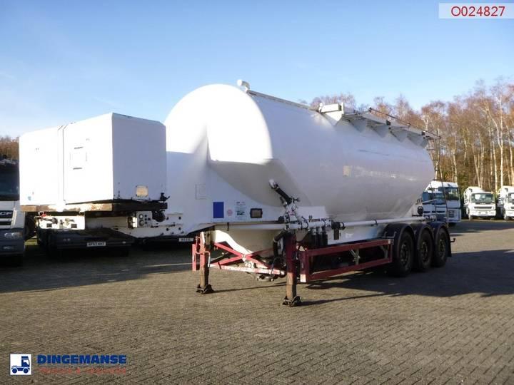 Feldbinder Bulk tank alu 40 m3 / 1 comp + engine/compressor - 2002