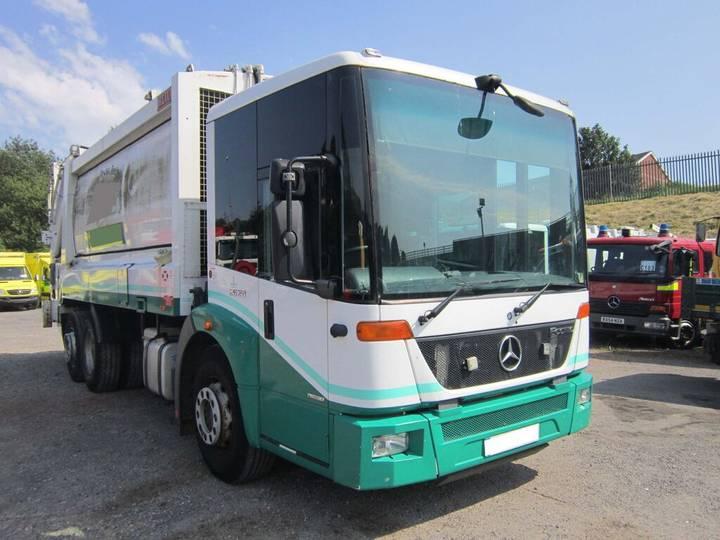 Mercedes-Benz ECONIC 2629 BLUETEC 5 6X2 26TON REAR STEER AUTO HEIL BODY - 2019