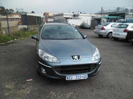 Peugeot 407 leather chain 2007 Model,5 Doors factory A/C And C/D Play
