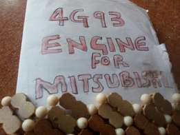 I am looking for 4G93 ENGINE FOR MITSUBISHI