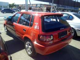 Toyota Tazz Facelift with aircon