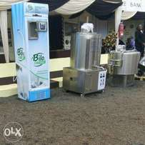Milk Pasteurizer and chiller