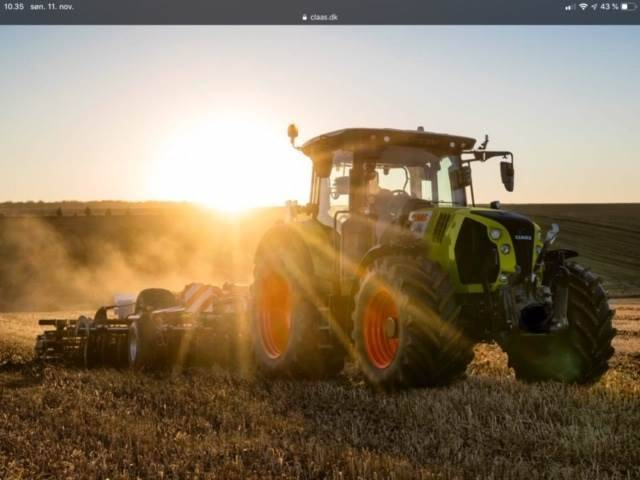 Claas Arion 660cmatic Touch Skærm - 2018