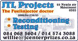 Petrol fuel injectors doctor(reconditioning and testing)