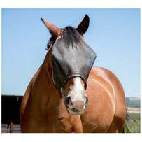 Horse Fly Mask – Charcoal Mesh