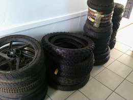 New tyres. All sizes