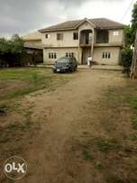 Five bedroom duplex on one plot and fence and Water