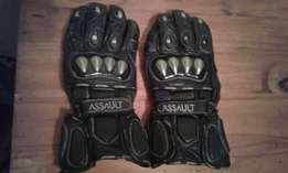 Assult Motorbike Gloves Small