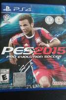 Playstation 4 Game: Pro Evolution Soccer 2015 for sale