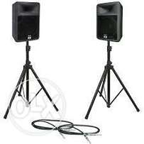 Speakers For Hire at KSH. 6,000.00