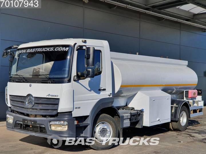 Mercedes-Benz Atego 1518 4X2 Fuel ADR Steelsuspension Euro 6 - 2017