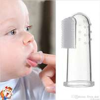 Newly invented soft baby's toothbrush