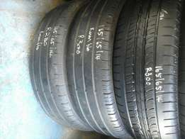 165/65/14 second hand tyres