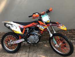 2012 KTM 450 SX-F in oustanding good condition (electric start)