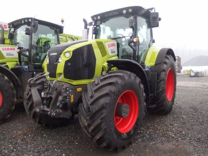 Claas traktor axion 870 cmatic - 2016