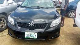 Few months old use Toyota corolla