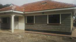 3 bedrooms bungalow with an SQ for sale in Rongai nkoroi kanisani road