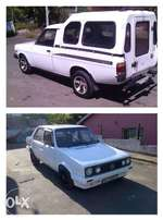 nissan 1400 bakkie and vw fox forsale or swap