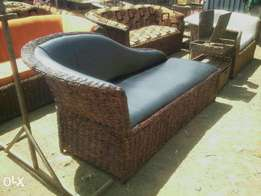 Makuti sofabed brand new leather fabric