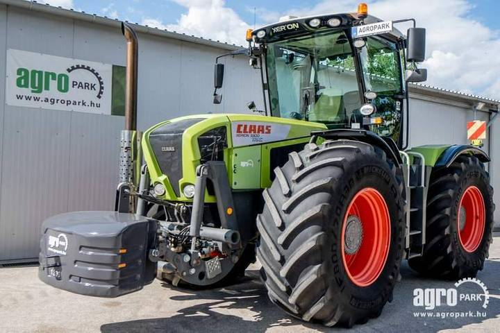 Claas Xerion 3300 (4921 Hours) 50 Km/h, Cab Suspension - 2009