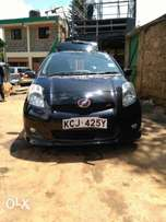Toyota vitz RS 2009 model Fully loaded Alloy rims with RS features