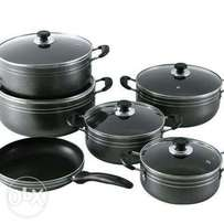 11pcs Heavy Duty Non-stick Die-cast Aluminium cookware set