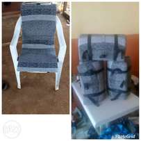 Detachable chair cushion