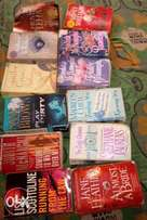 Bulk Novels For Sale at 300 naira each
