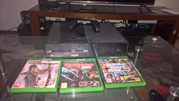 Xbox One 500GB with 3 games and 1 controller or Swap for a PS4