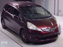 Honda fit 2012( blue and maroon )
