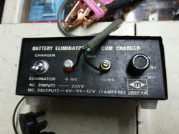 Battery charger (Uses mains power)