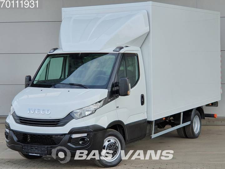 Iveco Daily 35C16 160pk Bakwagen Laadklep Koffer LBW 19m3 Airco... - 2017