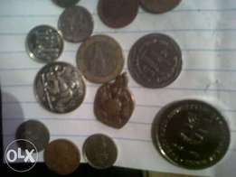 Coins and medallion