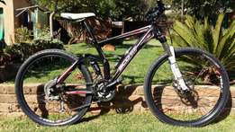 Scott Aspect dual suspension mountain bike