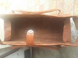 Thick Leather Bag