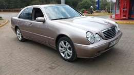 2002 Mercedes-Benz E200 Kompressor KBS Manual Petrol . Super Clean!!