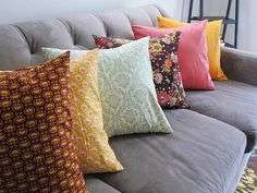 Fancy fluffy chair pillows for sale