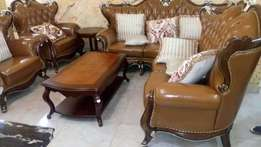 Complete set of high quality Royal King's Sofa chair