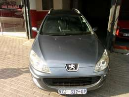 2007 Peugeot 407sw, Color Grey, Prince R68,500.