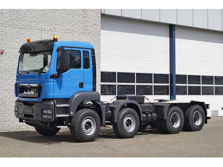 MAN TGS 41.400 BB-WW 8X4 CHASSIS CABIN (20 units)