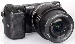 Sony Alpha NEX-5T Mirrorless Digital Camera With 16-50mm Oss lens
