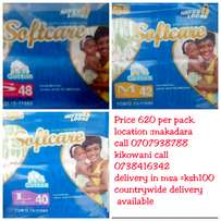 Softcare diapers cheap and best quality