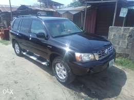 Superb toyota highlander for sale
